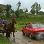 Dorfszene in Hosman