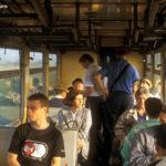 Auch wenige Tage vor der Einstellung waren die Züge zwischen Sibiu und Agnita gut besetzt
