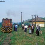 """In Benești, das nicht direkt an der Straße Sibiu - Agnita liegt, war am 21. August 2001 ein reger """"Fahrgastwechsel"""", wie es so trefflich in der Sprache der Eisenbahn heißt, zu beobachten"""